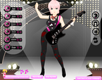 Nora A. The Rockstar by pinoy-verse