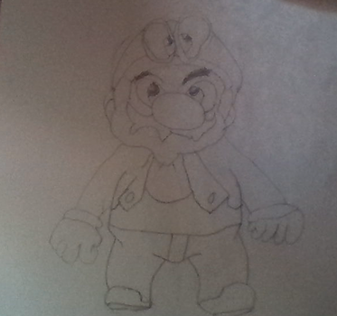 Mario Odyssey - The drawing by DanielML123