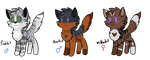 NightRobin Kit Tryouts ::OPEN:: by Sweaterkitty-Fluff