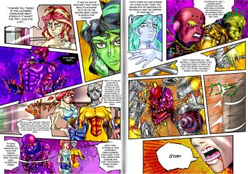 Jojo Bizarre Adventure: Twisted Sunset25 (english) by brother-lionheart