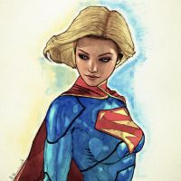 New 52 Supergirl by Mike-B-Hassett