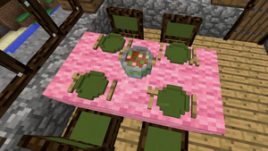 Minecraft - Dining room 3 by Timidouveg