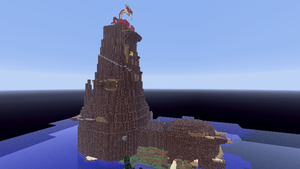 Minecraft  - Dragon Roost Island by Ludolik