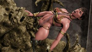 Slave Leia Cang Vore by Vyxes
