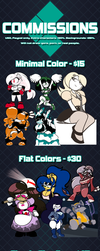 2018 Commission Sheet by Frost-Lock