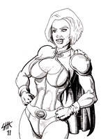 Power Girl by Captroop