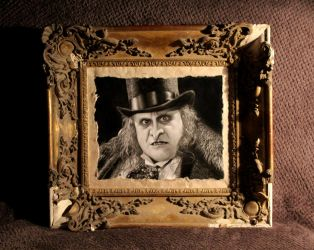 The Penguin - With frame by Stanbos