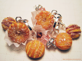 Butter Cookie Charms by WaterGleam