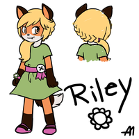 Riley Color Reference by BananimationOfficial