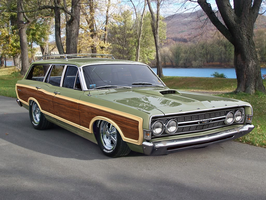 1968 Ford Torino Squire - shopped by rubrduk by rubrduk