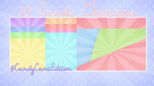 10 Free Candy Textures by CandyCaneEditor