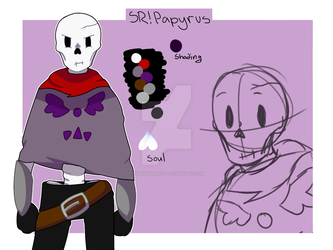 Sr!Papyrus Reference Sheet [SRTALE] by superhorse18