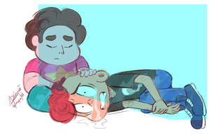 Stuck Together - Steven Universe by Koizumi-Marichan