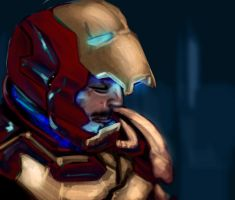 Iron man 3 by AtomicWarpin