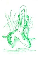 Frog Girl by RachelCurtis