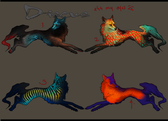 Wolf Adopts (Discus Edition) by xXNamaste