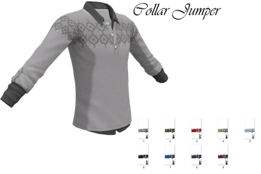 Collar Jumper Download by LunaSukii
