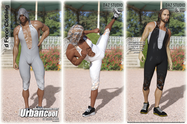 Urban Cool - Hooded Running Suit for G8M - OUT NOW by Kaos3d