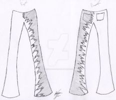 Pants Design by LoneWolfLove