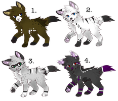 Canine Adopt Set .:CLOSED:. by QualiT-Adopts
