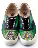 My shoes revisted by Jboogieman