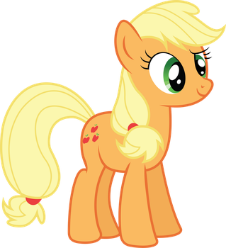 Applejack Hello There by illumnious