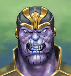 Thanos by noumenus