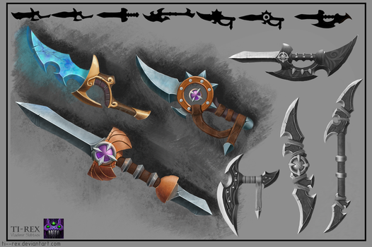 Rome style Weapon Design by Ti--Rex