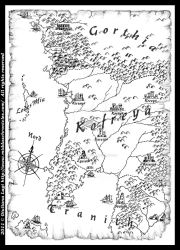 The reign of Kofreya: a map from Book IV by middaschronicles