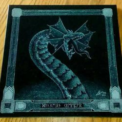 Dungeon Creeper - granite etching by ckatt01