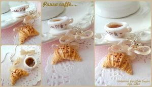 It's Time Croissant  coffee ! by Valentina-PinkCute