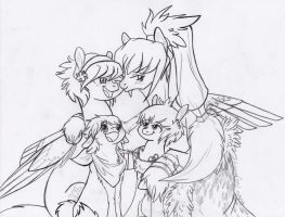 A Family Photo by KyuremGirl