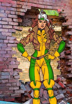 X-MEN Rogue 90's Jim Lee costume by DaveA69