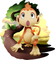 Chimchar and background