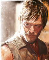 Daryl Dixon by p1xer
