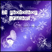 Romantic Flower Brushes PS by Coby17