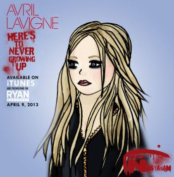 Avril Lavigne Here's To Never Growing Up Cover by nasstaran