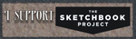 I Support The Sketchbook Project - Banner by Mythspinner-Studios