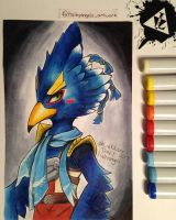 Revali - Breath of the Wild (Linktober Day 1) by Haleyangelo