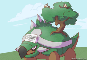 Pokeshaming Torterra