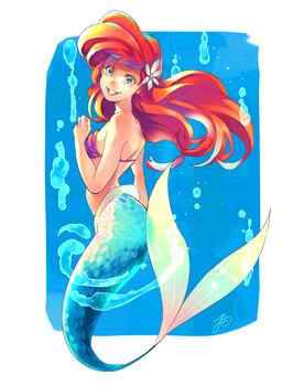 Ariel by Umintsu