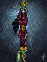 Tentacled 7: Spiderwoman by andrewr255