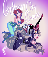 Gotham City Sirens by SGTMADNESS