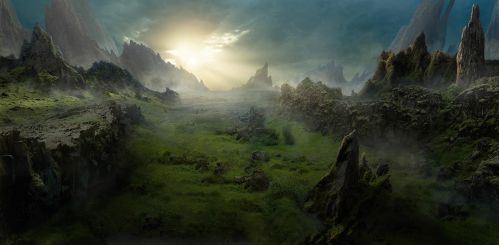 MATTE PAINTING 060517 BY Scott Richard by rich35211