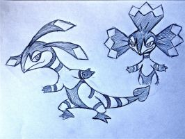 Project Fakemon: Squamwatt by XXD17