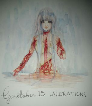 Goretober 15: Lacerations by Jimnotaco