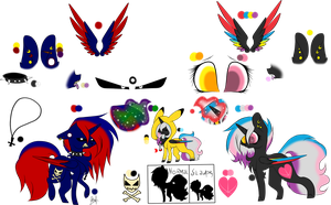 Flaming Rainbow Reference Sheet 4.0 by OhFlaming-Rainbow