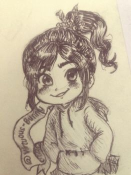 WiR - Vanellope by Virtuous-Bunny