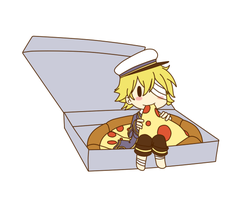 Oliver pizza by happywell