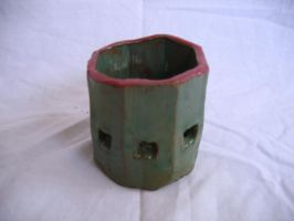 Meh... Candle Holder by tmgivler